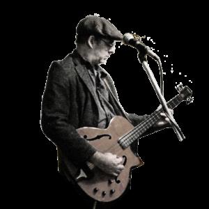 Wild Man Dave - silhouette